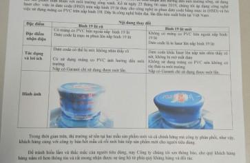 In Date Bằng Laser Và Bỏ Màng Co Cho Bình Ion Life 19 lít